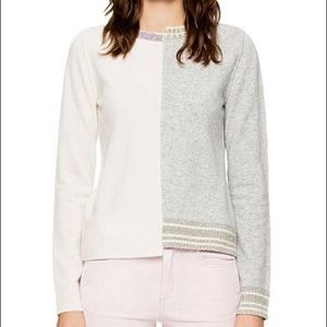 Zadig Voltaire Source Spliced Cashmere sweater